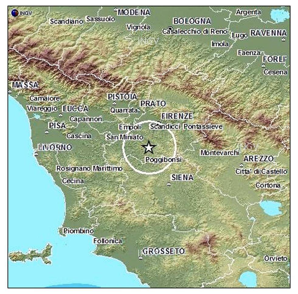 Terremoti: in Italia quasi 4 mila scosse in tre mesi