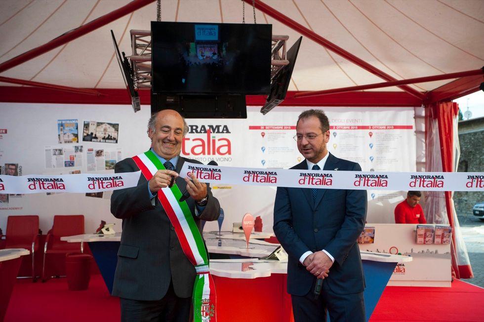 Il sindaco di Spoleto inaugura la tappa del tour in Umbria
