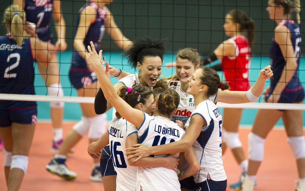 italia europei volley femminile