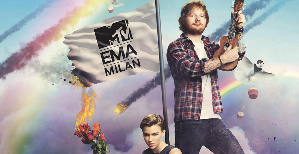 MTV Ema 2015: Ed Sheeran e Ruby Rose saranno i presentatori