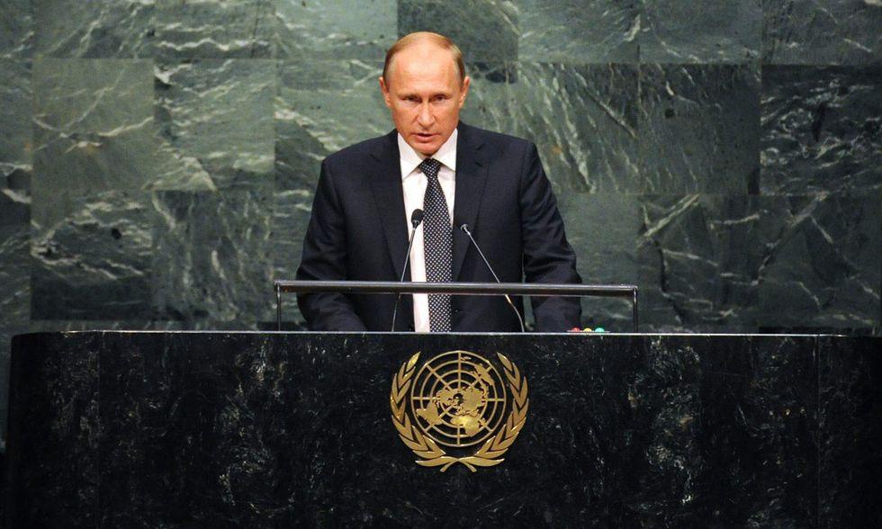 Vladimir Putin all'ONU