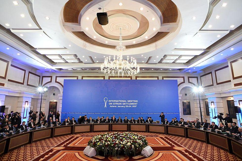 Siria: le conclusioni del negoziato di Astana