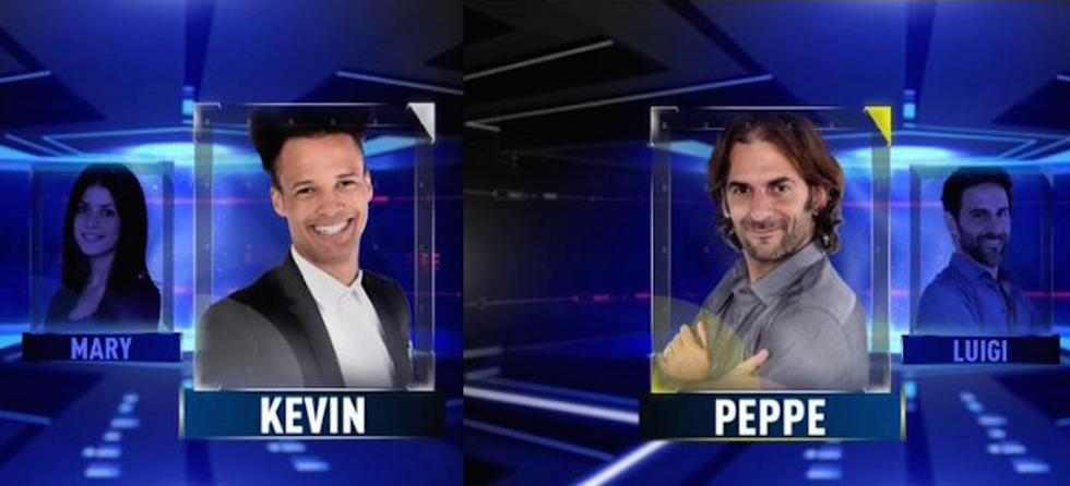 Grande Fratello 14: Peppe e Kevin in nomination, nuovi ingressi e tensioni