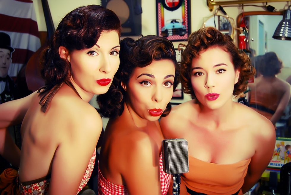 Ladyvette, il trio anni 50 che porta l'Italia in America