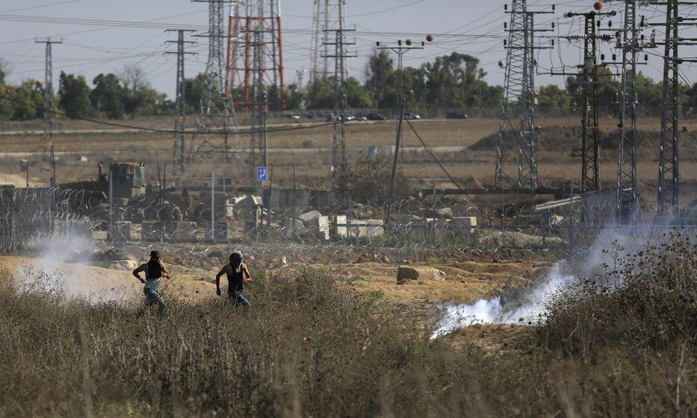 Scontri a est di Gaza