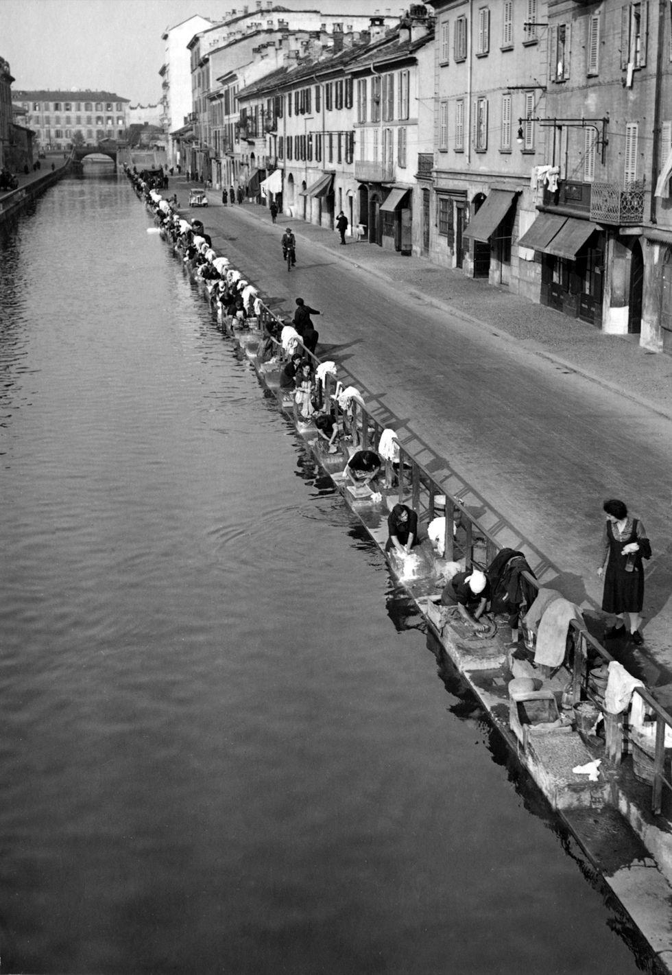 Milano, Il Naviglio, 1938