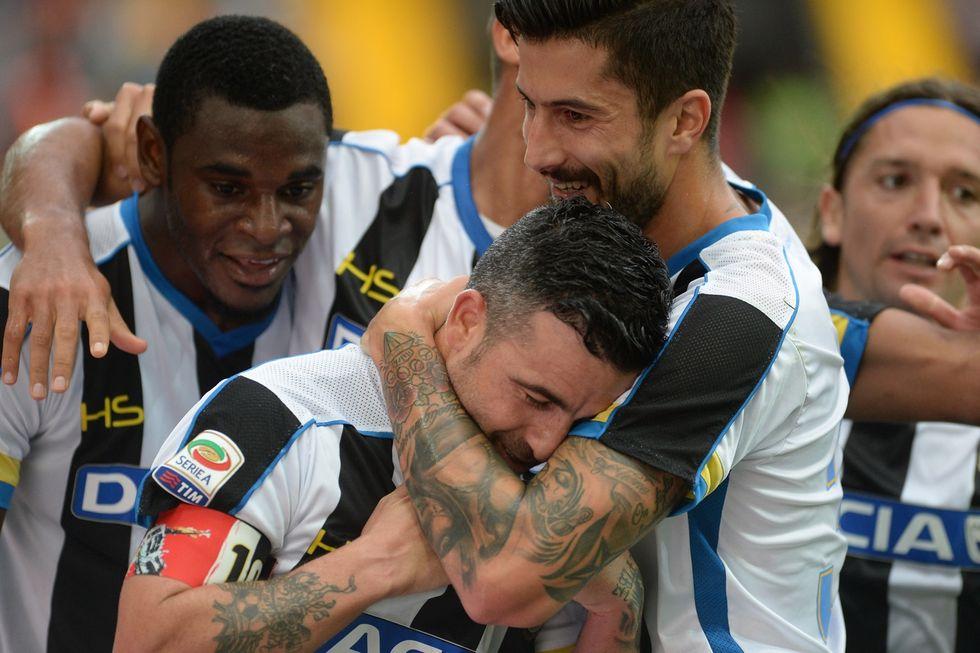Di Natale fa 38 anni, Udine festeggia la sua leggenda: TrenTotò!