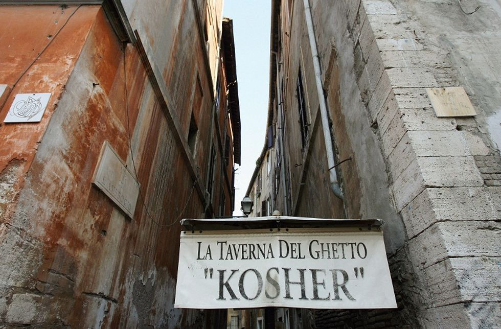An interesting walk in Rome's ghetto