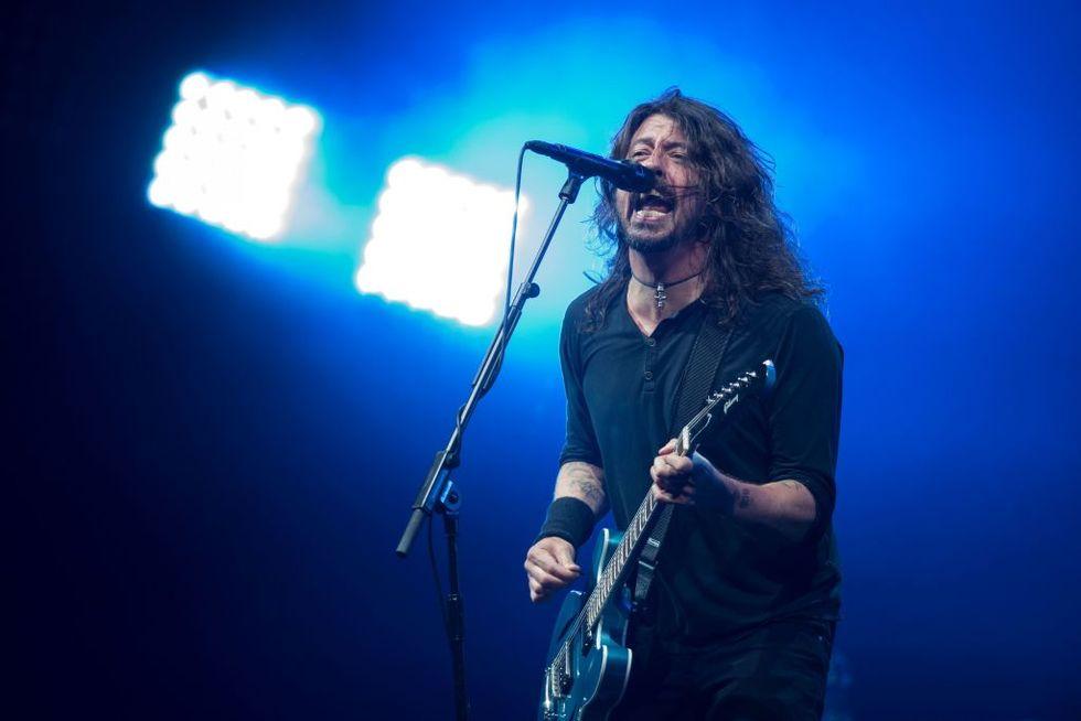 Dave Grohl: i 50 anni dell'ultimo tedoforo del rock