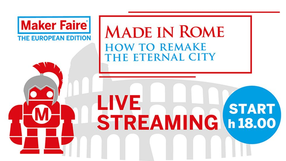 Maker Faire Rome: live streaming