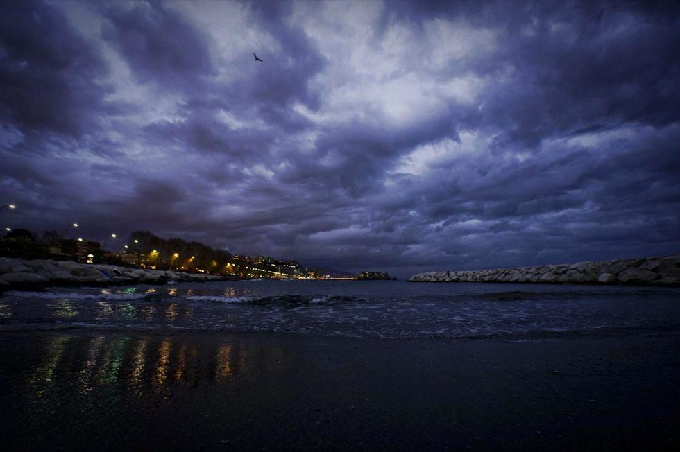 Maltempo: vento in golfo Napoli, Capri isolata da mare mosso