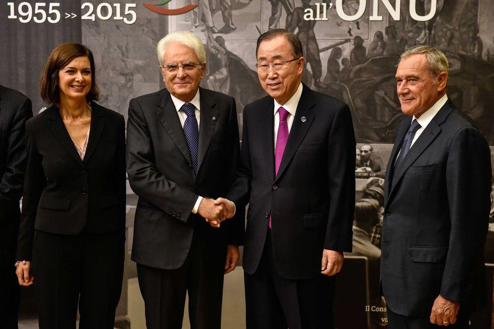 al segretario generale dell'Onu