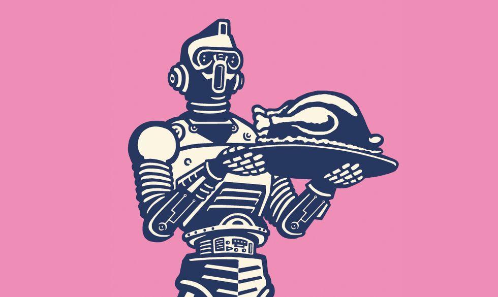 robot maggiordomo