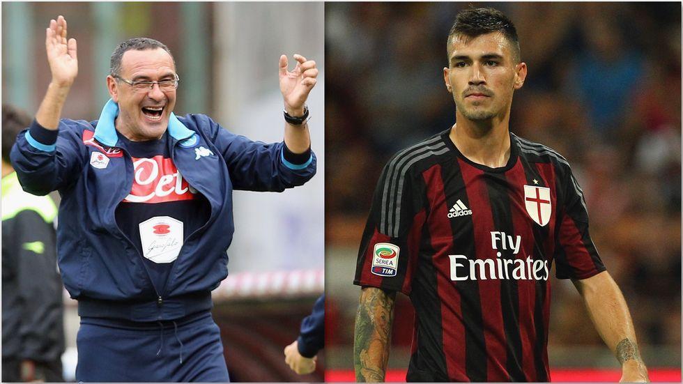 Sarri re di Napoli, il flop del Milan riassunto da Romagnoli e Luiz Adriano