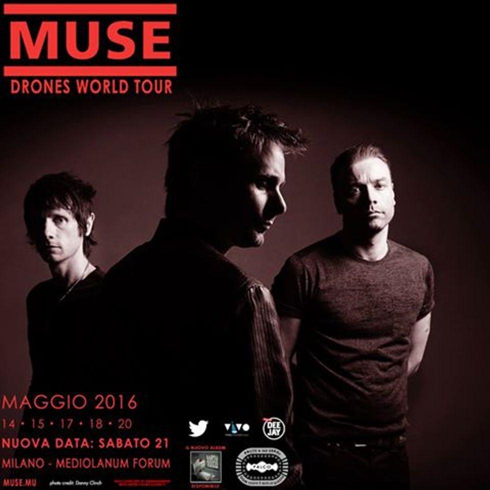 Muse a Milano: sesto concerto il 21 maggio