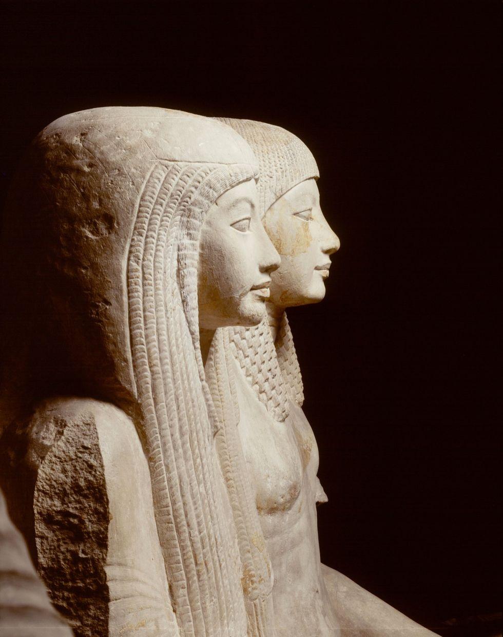 Gruppo statuario di Maya e Meryt