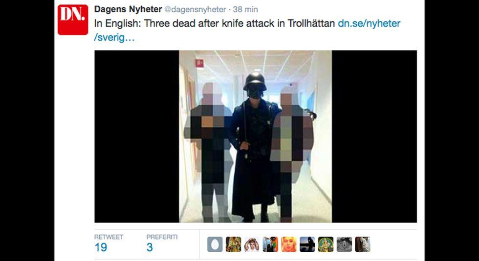 Svezia, assalto alla scuola: morto anche il killer, oltre a insegnante e alunno