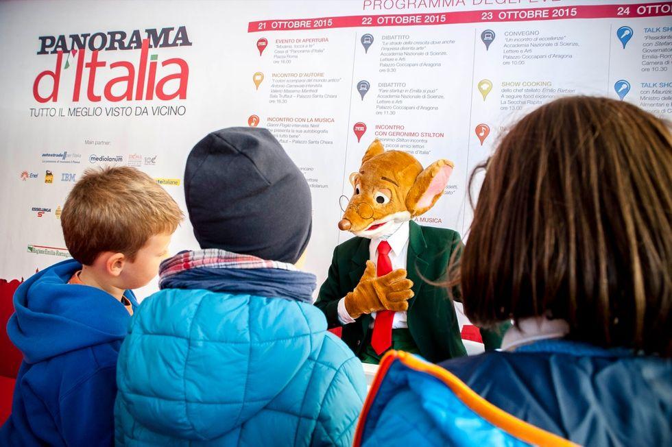 Geronimo Stilton incontra i suoi fan a Modena