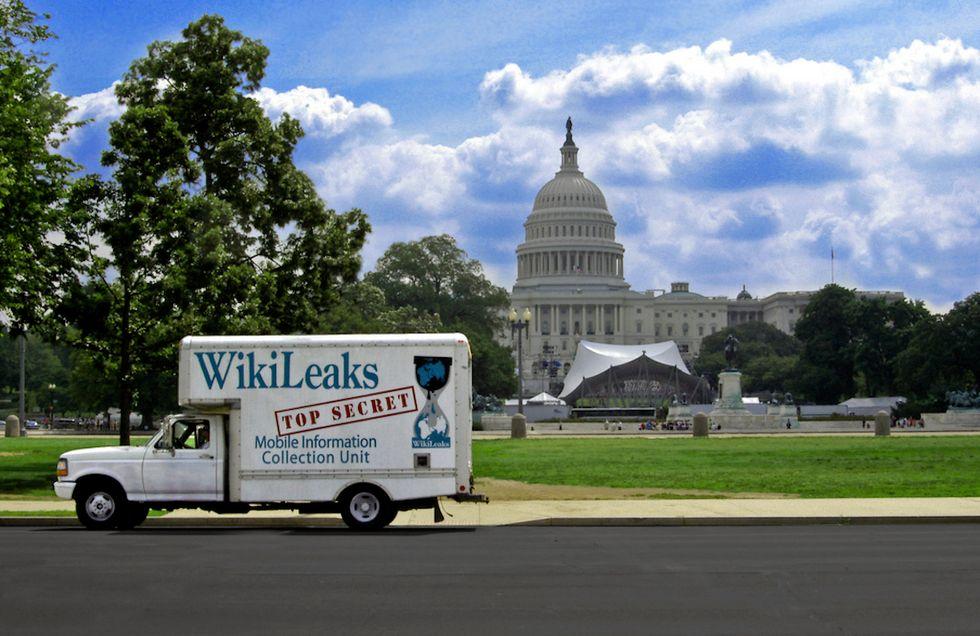 wikileaks email cia