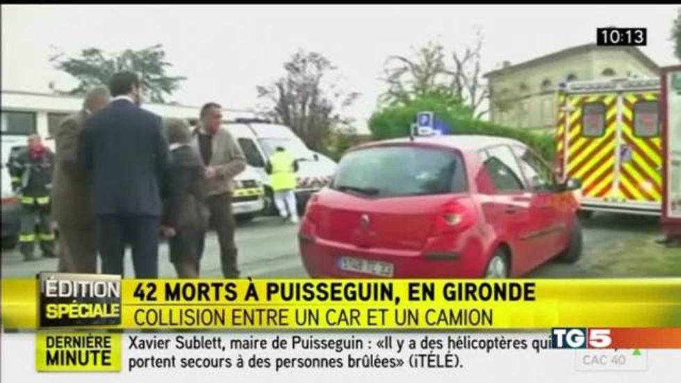 Tragedia stradale in Francia: almeno 42 i morti