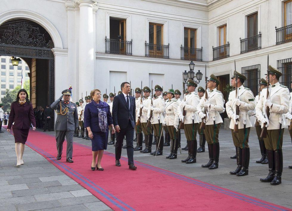 Renzi, Italia e Cile