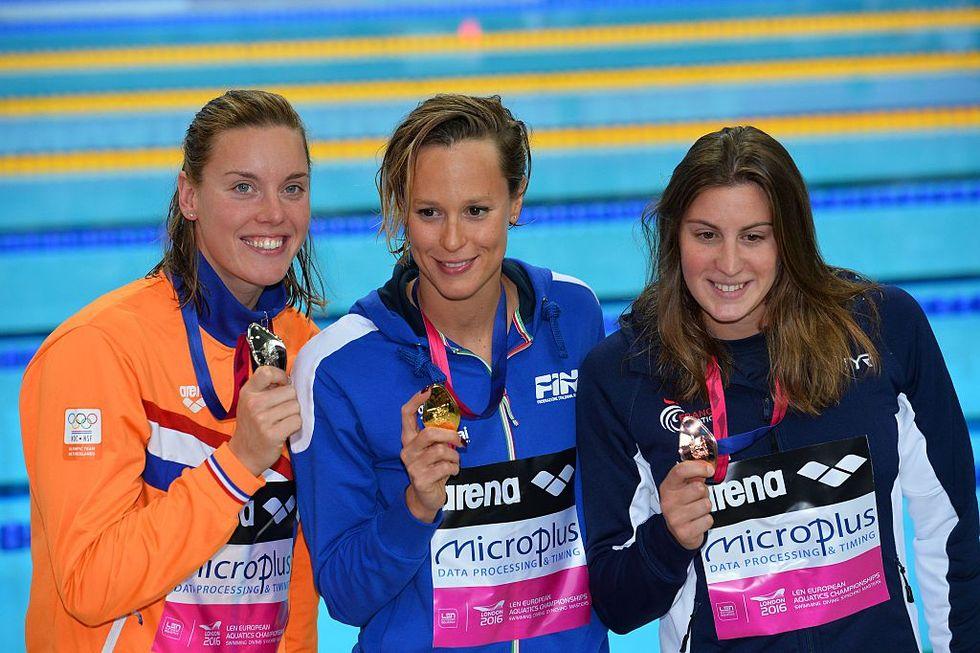 Europei di nuoto 2016: tutte le medaglie azzurre