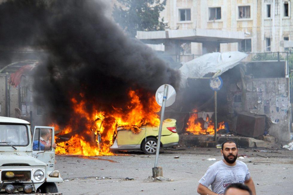 Siria-attentato