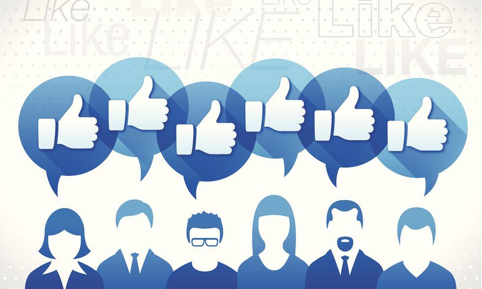 Like, Facebook