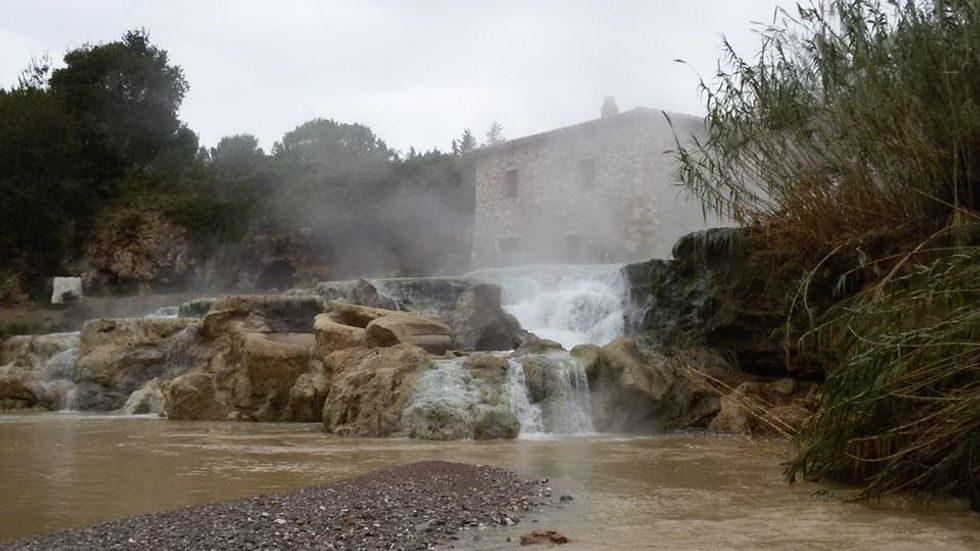 The hot springs of Saturnia