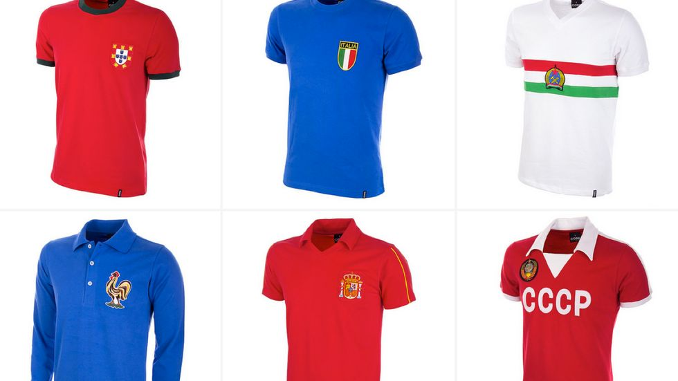 Europei 2016 - Tornano in vendita le maglie che hanno fatto la storia
