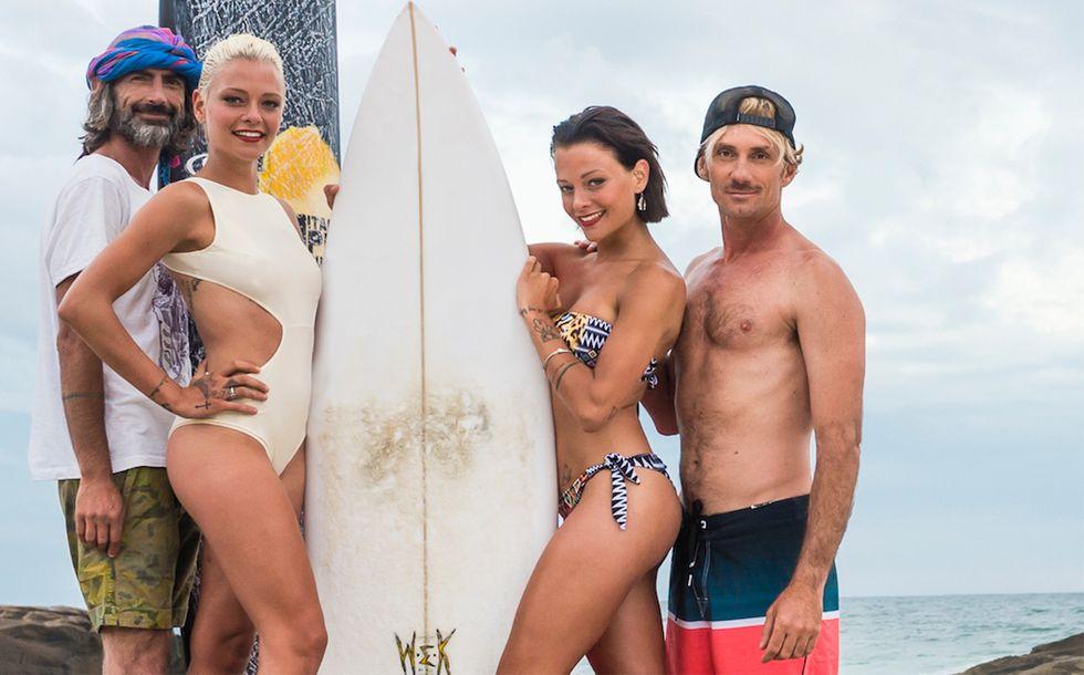 Coach e Donatella Italian Pro Surfer