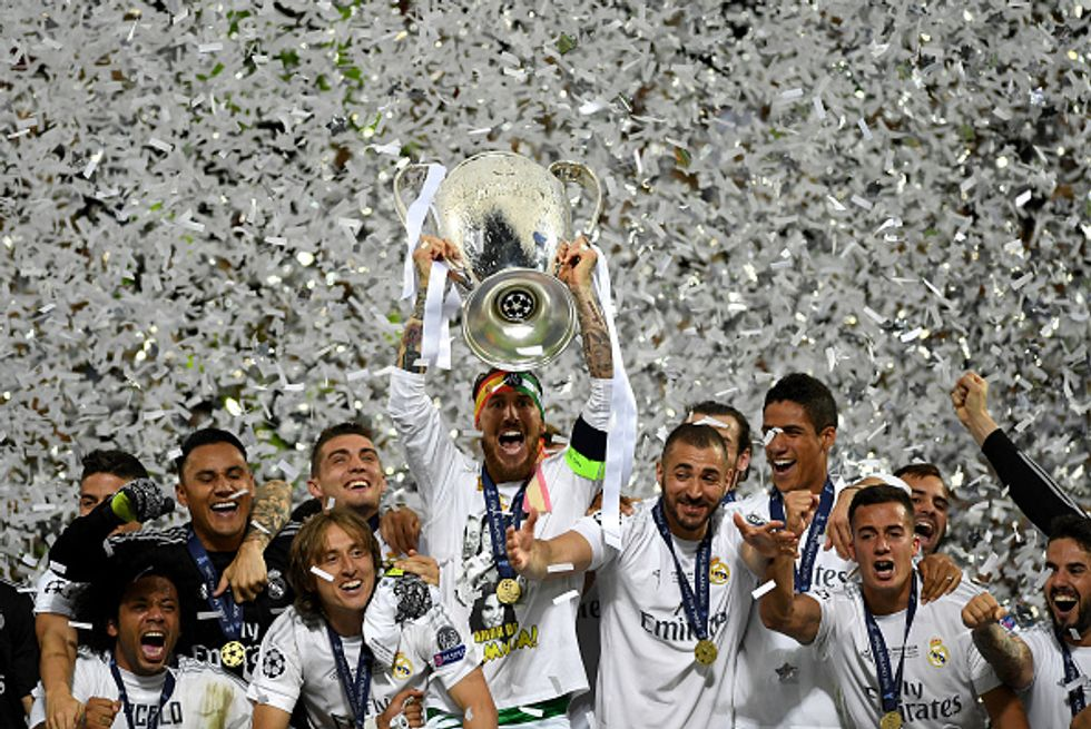 Real Madrid campione Champions League