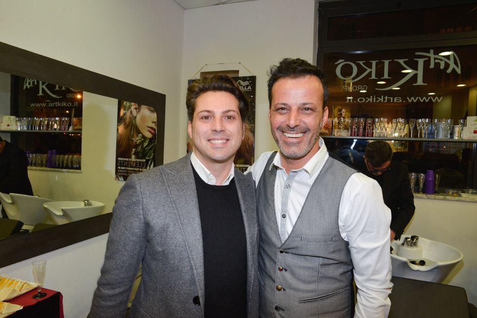 Vincenzo Bocciarelli e Kiko Nalli