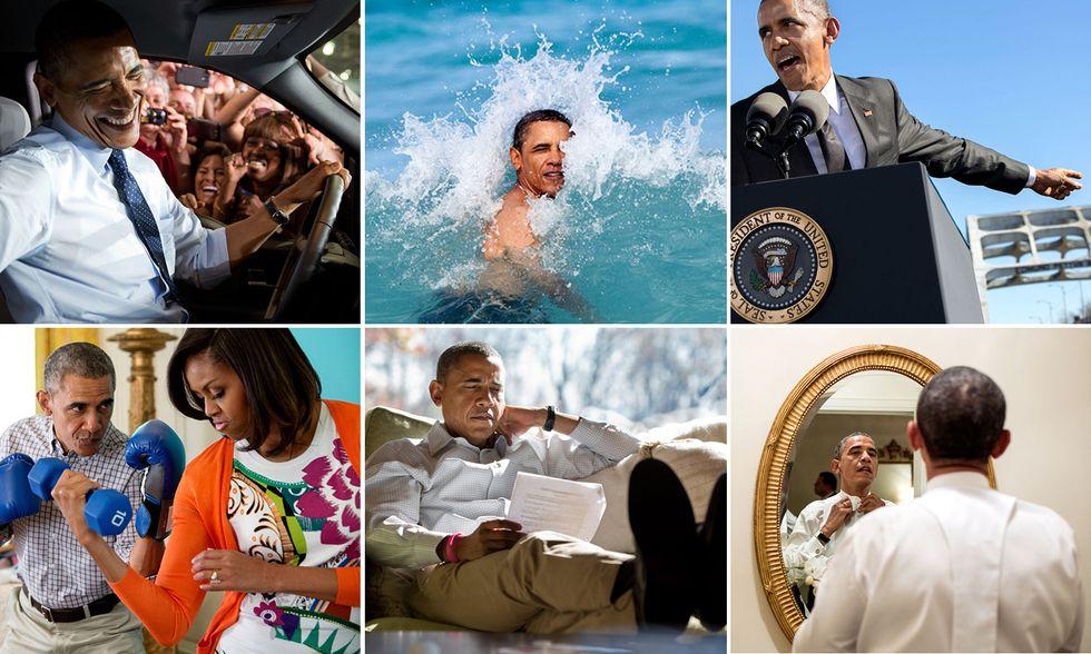 Barack Obama nelle foto di Pete Souza