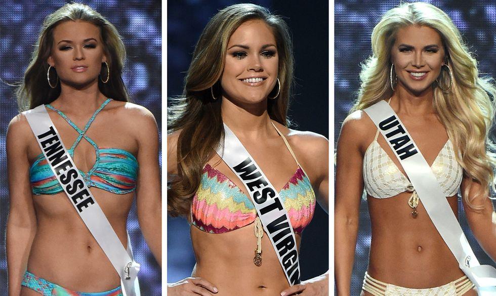 Miss USA 2016 bikini