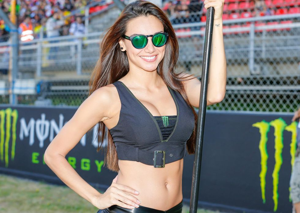 Grid Girls MotoGP di Catalogna 2016