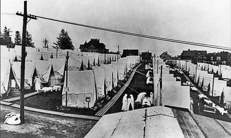 Riccardo Chiaberge, 1918: la grande epidemia