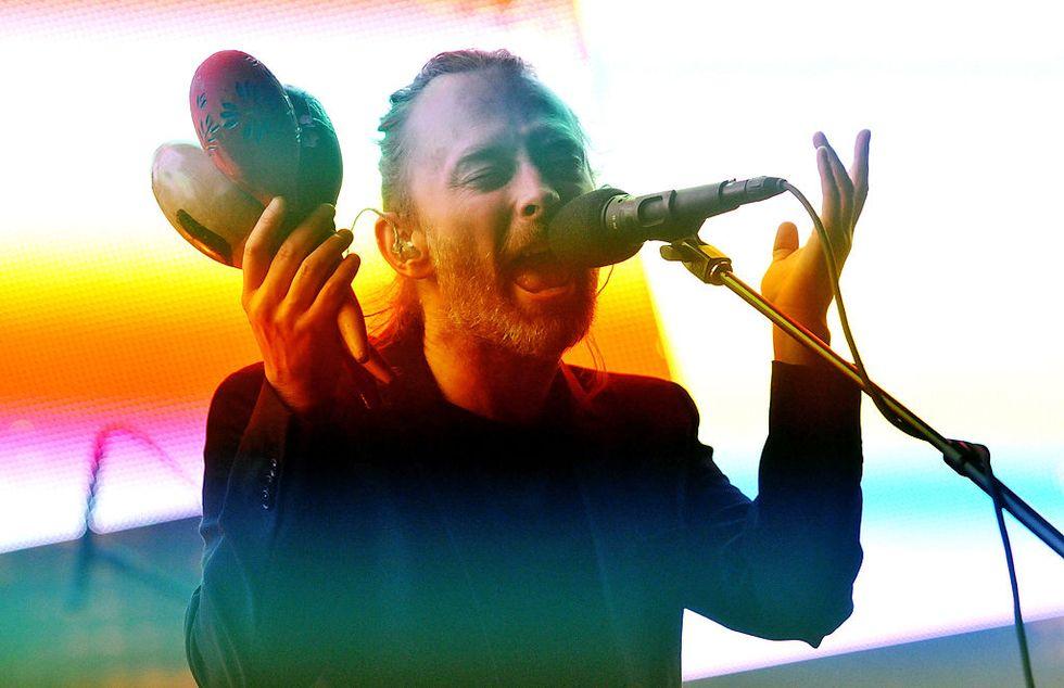 Radiohead: la spettacolare scaletta del nuovo tour (c'è anche Creep)