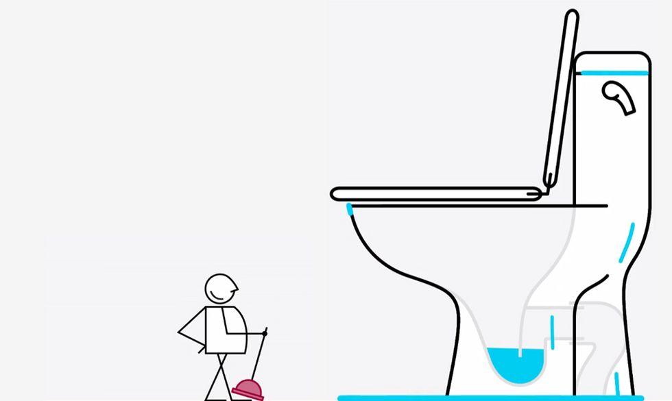 Come riparare il WC (e altre cose strane che chiediamo a Google)