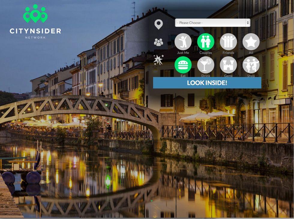 """Citynsider, il sito che raccomanda i posti """"giusti"""""""