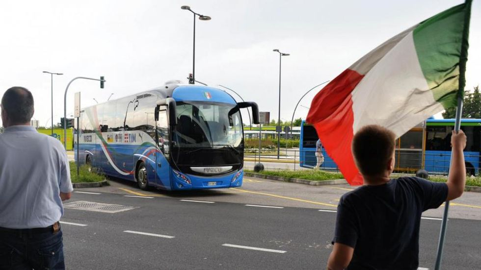 L'avventura dell'Italia a Euro 2016 - Fotostory