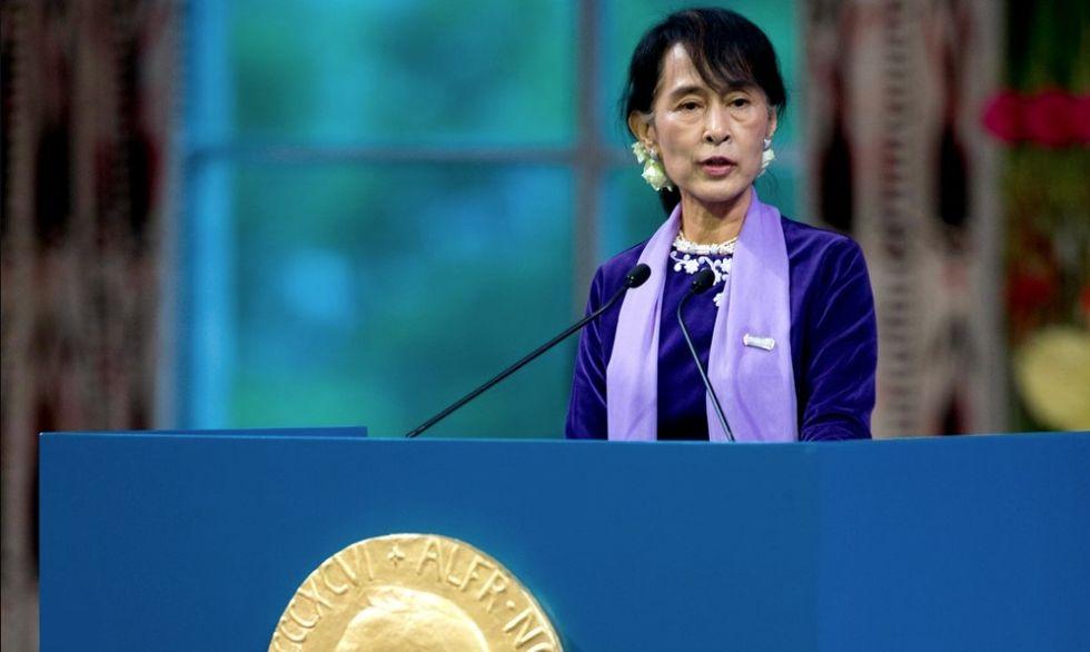 Noble per la pace, Aung San Su Kyi