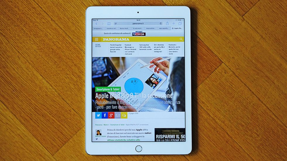 Apple iPad Pro 9,7'': la recensione