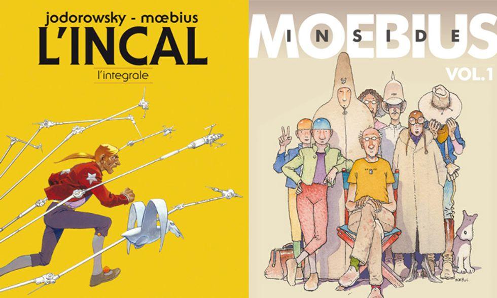 'L'Incal - L'integrale' e 'Inside Moebius': due fumetti per capire il genio di Moebius