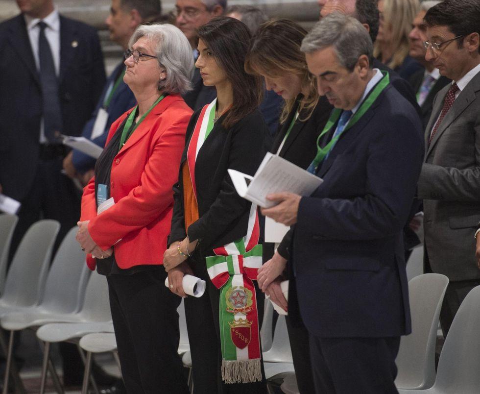 Virginia Raggi: primo giorno da sindaco di Roma