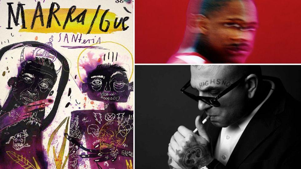Rap, l'album di Marracash e Guè, il disco di YG e il singolo di Mike Highsnob