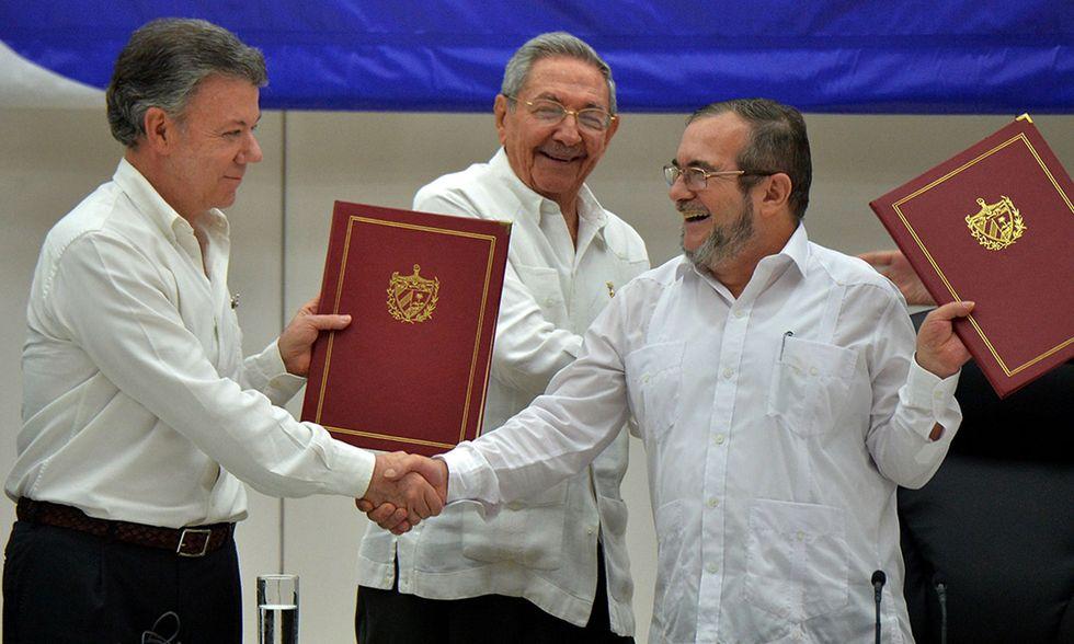 Pace tra Farc e Colombia a Cuba