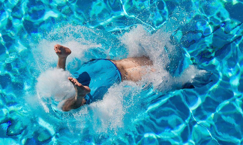 Un tuffo in piscina a Norimberga