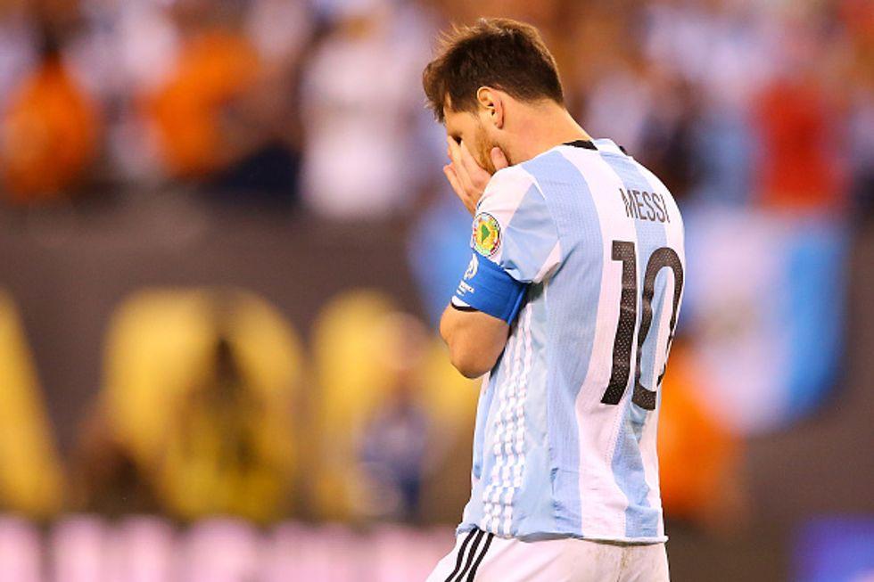 """Messi e il confronto impossibile con Maradona: """"Mi ritiro dall'Argentina"""""""