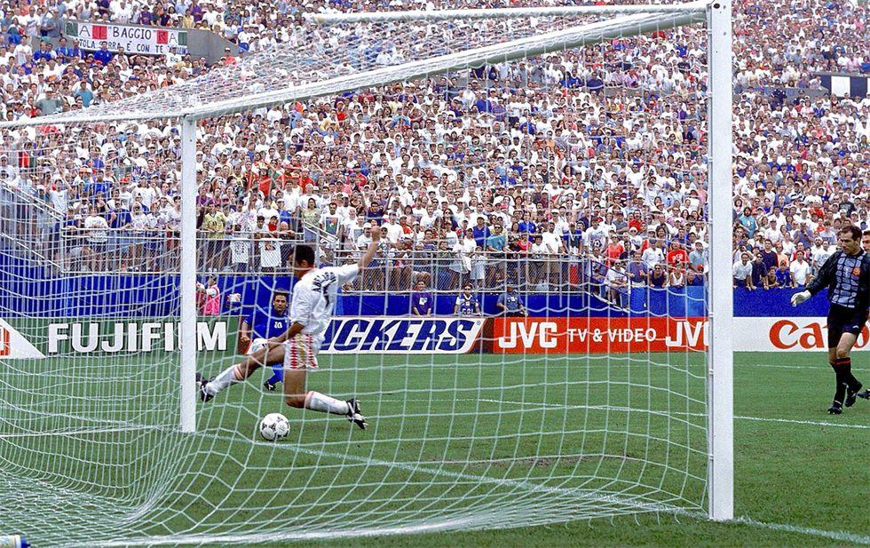 Italia-Spagna: con doppietta di Baggio l'ultima vittoria ai Mondiali 1994